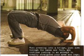 桥系列诫条5:四肢推动!