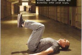 举腿第2式:平卧抬膝