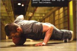 俯卧撑第7式:偏重俯卧撑
