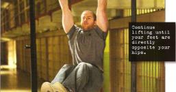 举腿第7式:悬垂屈举腿